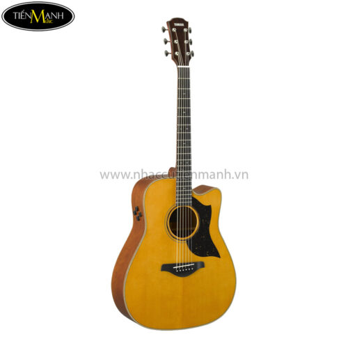 Đàn Guitar Acoustic Yamaha A5M Vintage Natural