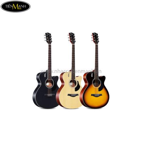 Đàn Guitar Acoustic Rosen G11-A-40 (Black-Natural-Sunburst)