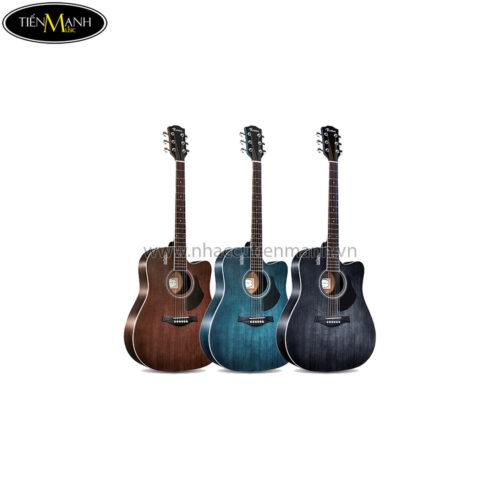 Đàn Guitar Acoustic Rosen G11S-D-41 (Brown-Blue-Black)