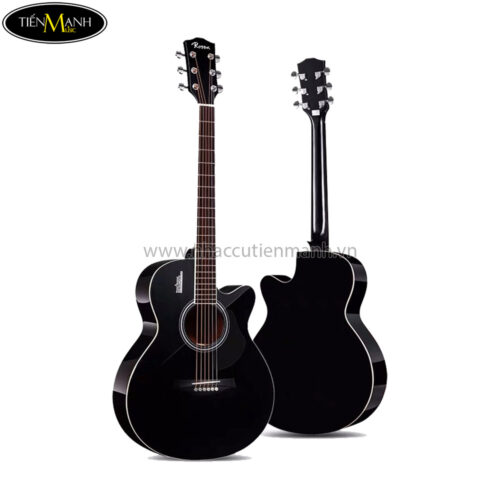 Đàn Guitar Acoustic Rosen G12NA-A-40 (Black-Natural-Sunburst)