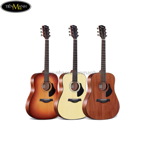 Đàn Guitar Acoustic Rosen G15-D-41 (Sunburst-Natural-Brown)