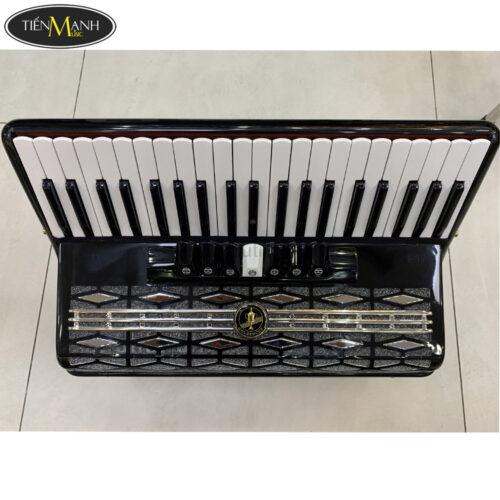 Đàn Accordion Golden Cup 120 Bass (màu đen)