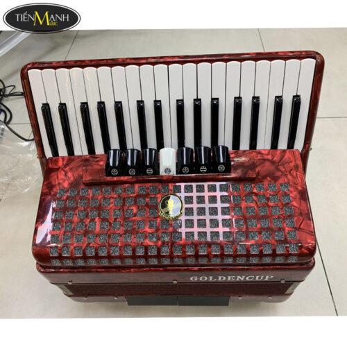 Đàn Accordion Golden Cup 72 Bass (màu đỏ)