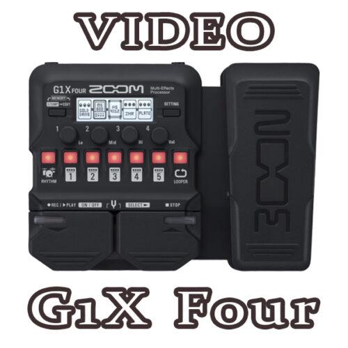 Phơ Guitar Zoom G1X Four