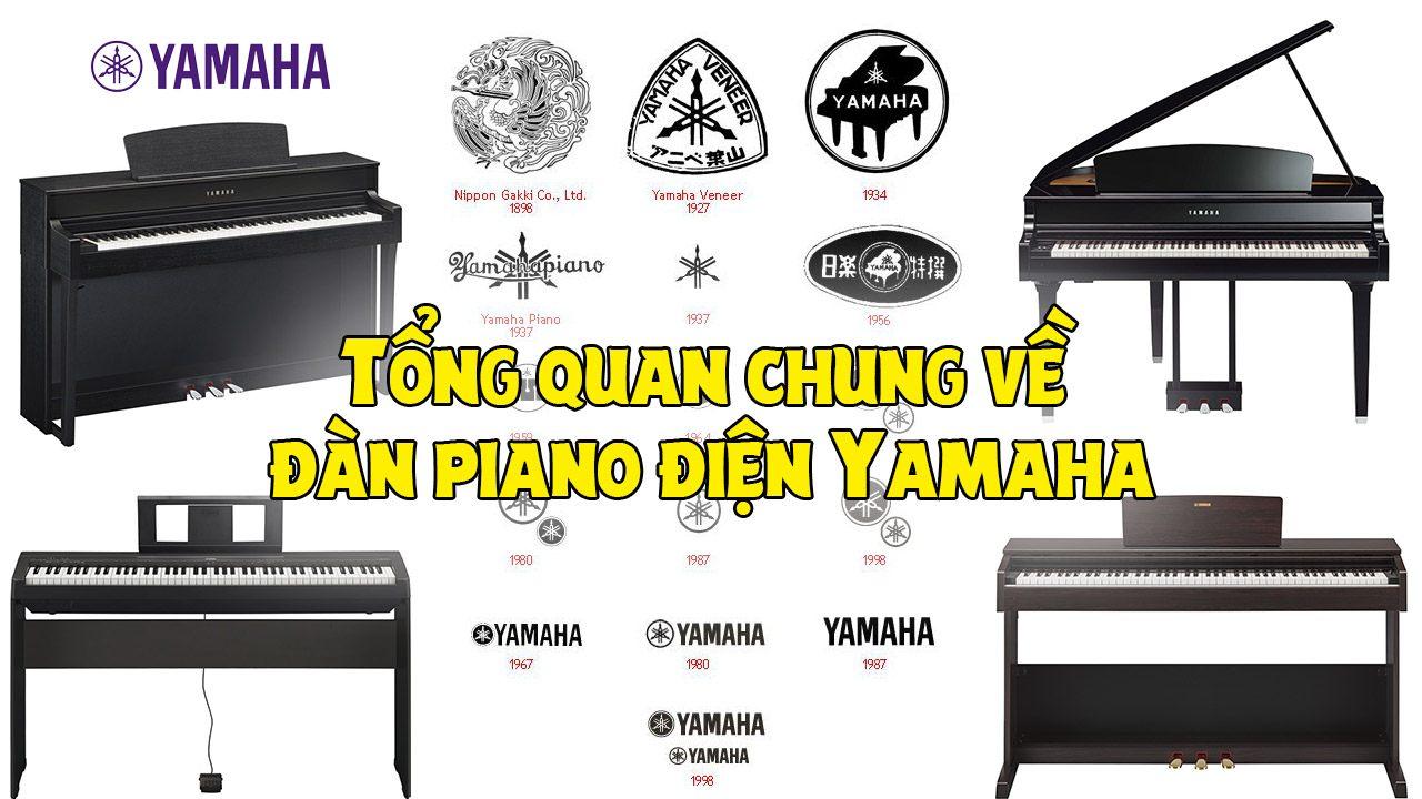 Tổng Quan Chung Về Đàn Piano Điện Yamaha