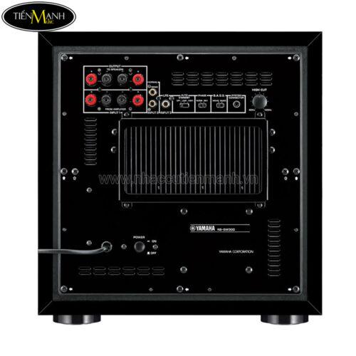 Loa siêu trầm Yamaha NS-SW300 Piano Black