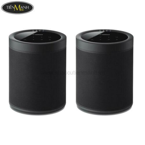 Loa Yamaha WX-021 Black + Loa Yamaha YAS-408 Black