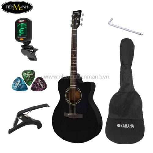 đàn guitar acoustic yamaha fs100c khuyến mãi
