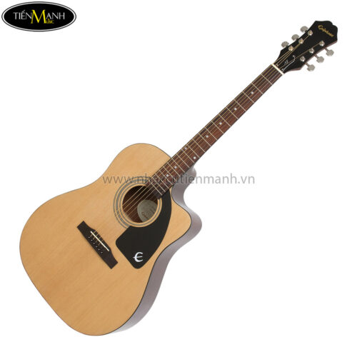 Epiphone AJ-100CE Acoustic/Electric Guitar, RW Neck, Natural