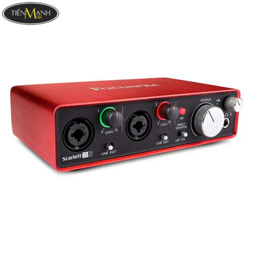 Focusrite Scarlett 2i2 (3rd Generation) Interface Sound Card