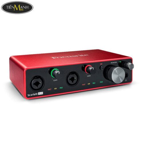 Focusrite Scarlett 4i4 (3rd Generation) Interface Sound Card