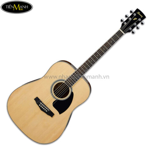 Ibanez PF15-NT Acoustic Guitar, RW Neck, Natural