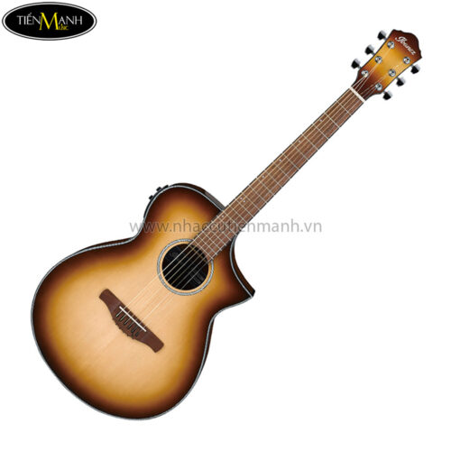 Ibanez AEWC11-NNB Acoustic Guitar, Natural Browned Burst High Gloss