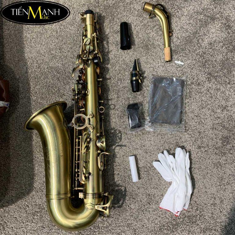 Kèn Alto Saxophone AS-130AB (vàng đồng)