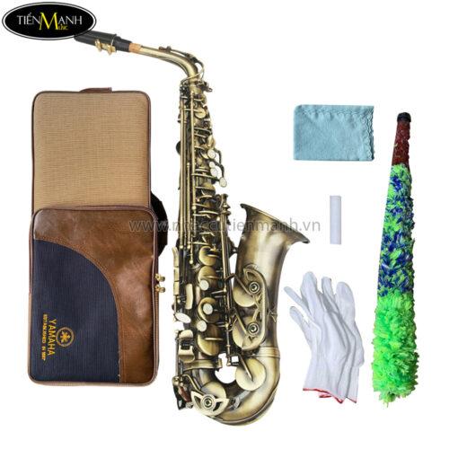kèn alto saxophone as 130ab vàng đồng khuyến mãi