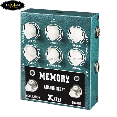 Phơ Guitar Xvive Memory Analog Delay W3
