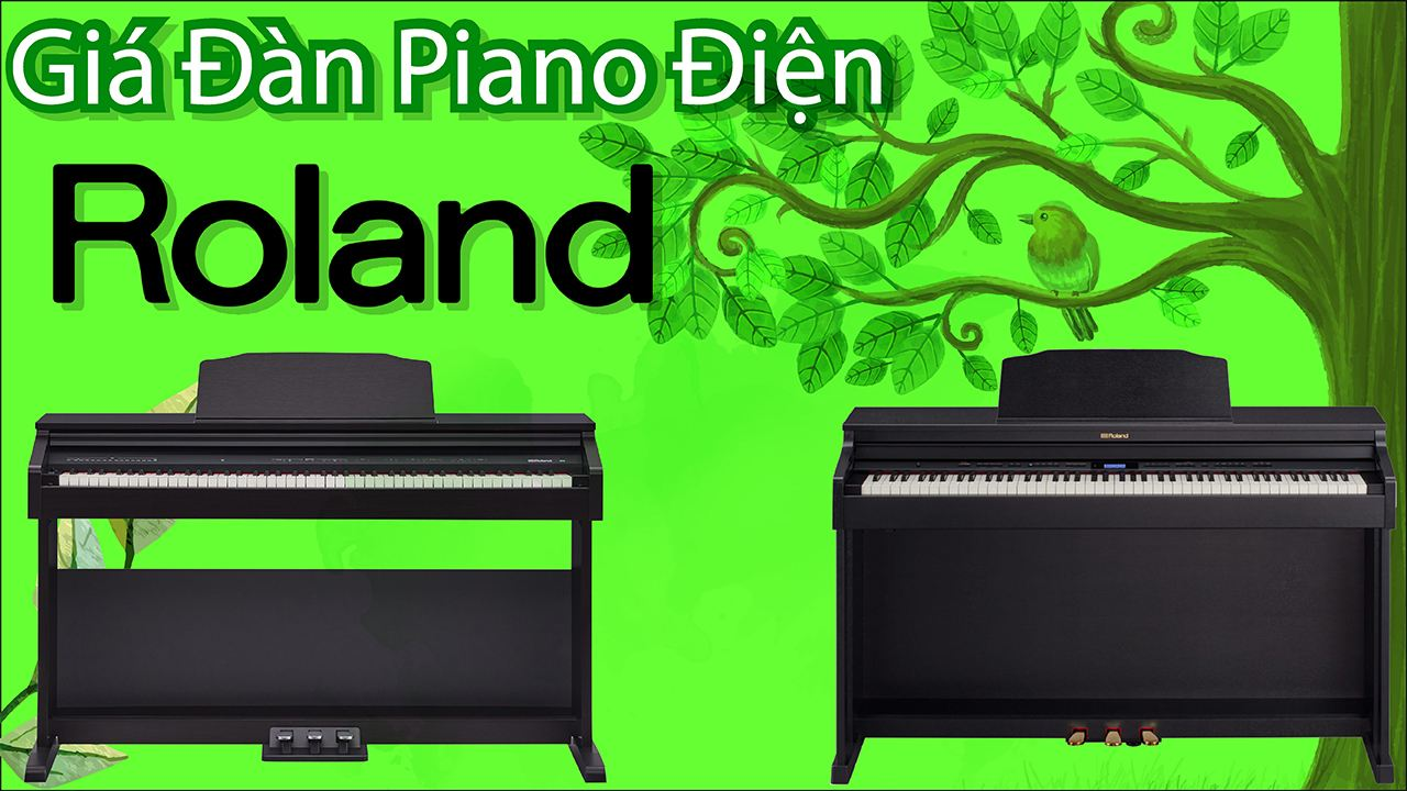 Cập Nhật Giá Đàn Piano Roland Mới Nhất Hiện Nay