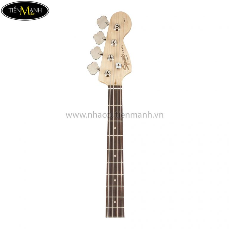 Guitar Bass Fender Squier Affinity PJ Bass Metallic Red