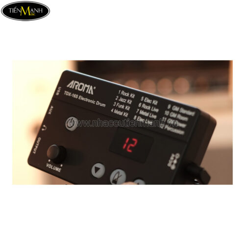 Trống Điện Tử Aroma TDX-16S