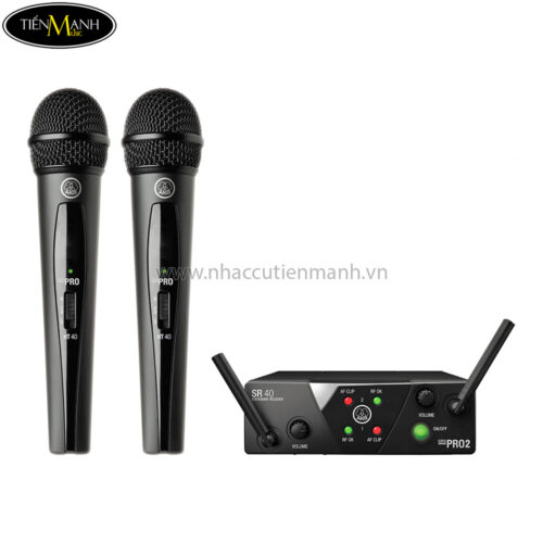 Bộ Micro Không Dây AKG WMS40 Mini2