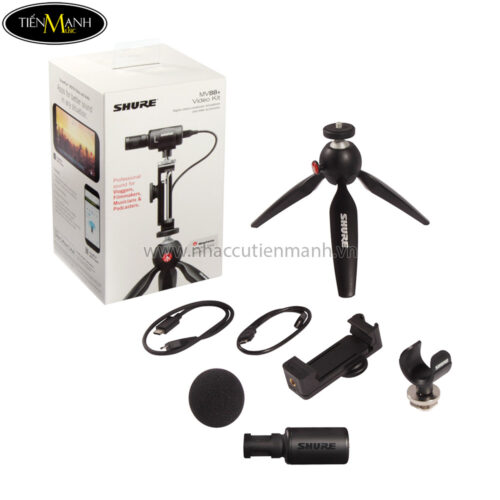 Bộ Micro Quay Video Shure MV88+Video Kit