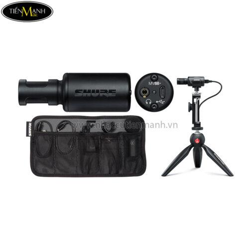 Bộ Micro Quay Video Shure MV88+Video Kit