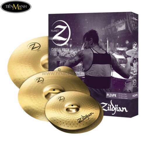 Cymbal set-up Zildjian PLZ4PK (14'16'20')