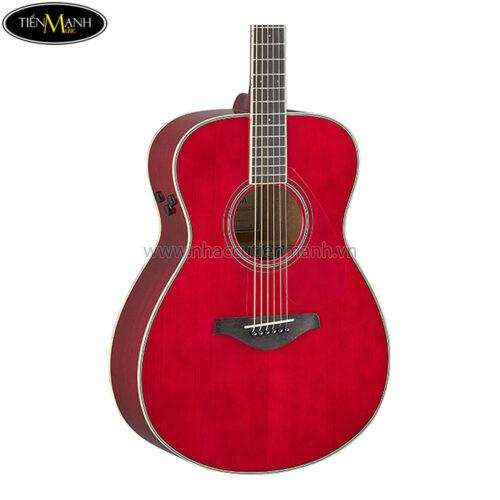 Đàn Guitar Yamaha FS-TA TransAcoustic Concert Ruby Red