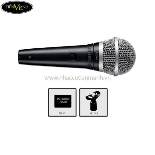 Micro Karaoke Shure PGA 48 LC