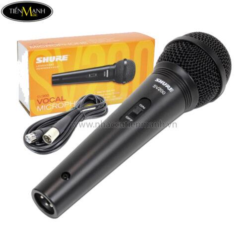 Micro Karaoke Shure SV200 QX