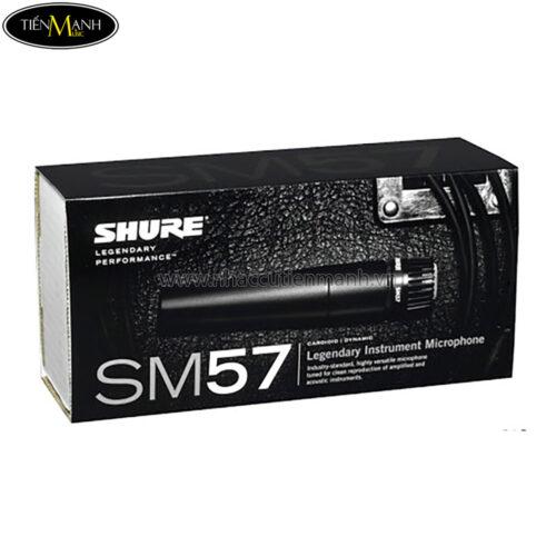Microphone nhạc cụ Shure SM57-LC