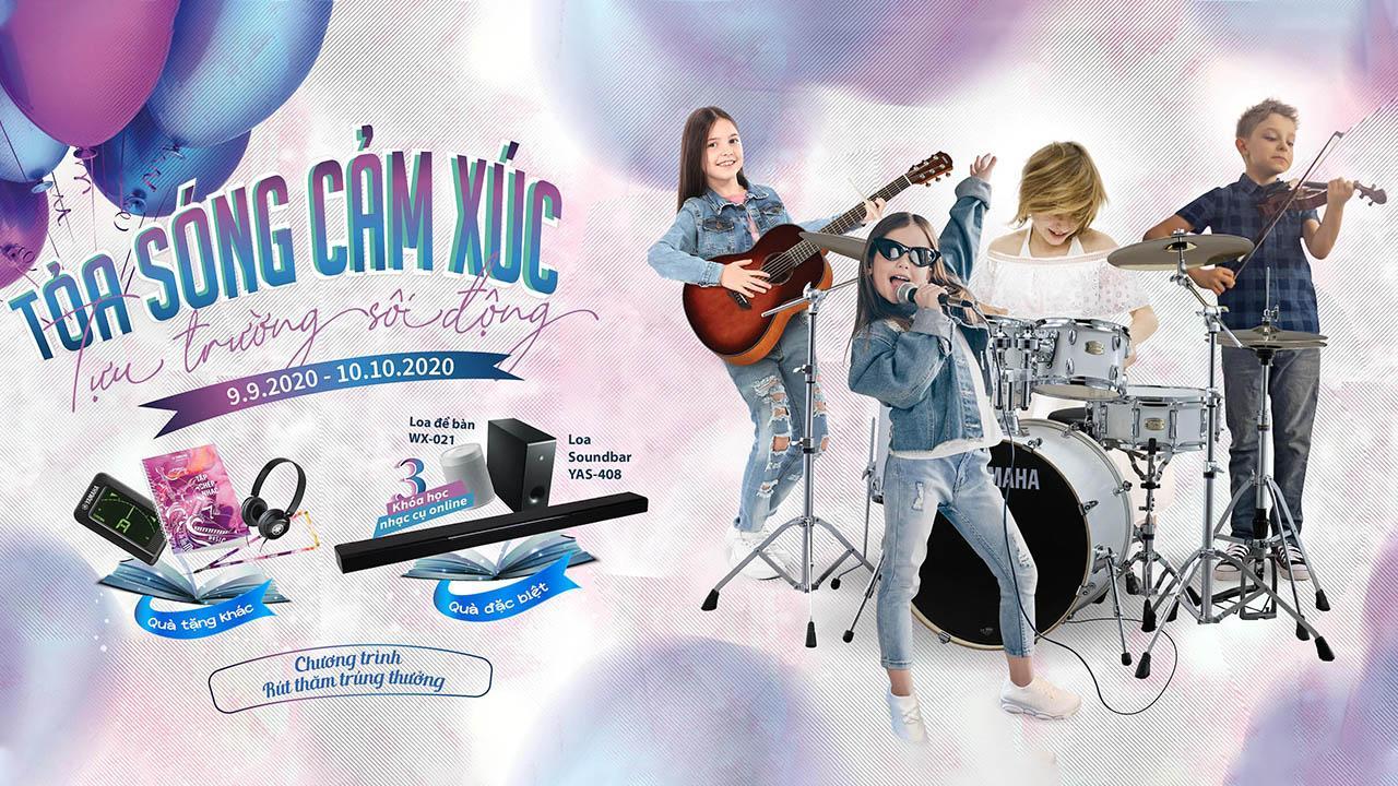Tiến Mạnh Khuyến Mãi Nhạc Cụ Yamaha 2020