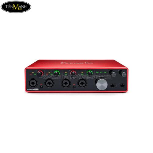 Focusrite Scarlett 18i8 (3rd Generation) Interface Soundcard