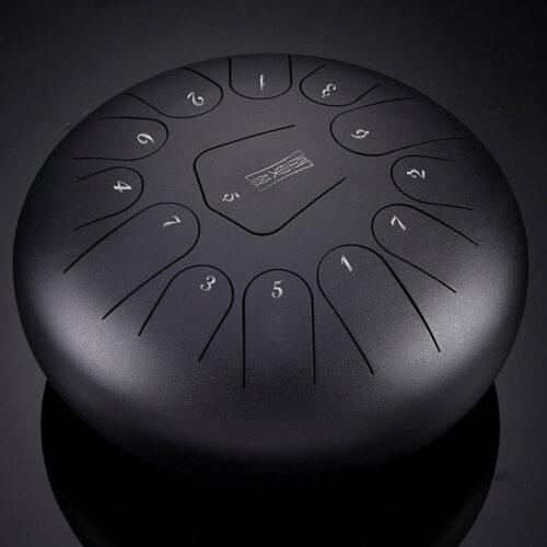 Trống Lưỡi Thép Steel Tongue Tank Drum Hluru 13 Tone TS13 (Trống Không Linh) - Tone C