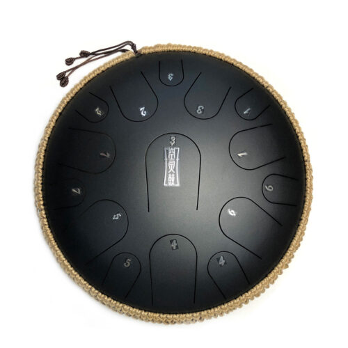 Trống Lưỡi Thép Steel Tongue Tank Drum Hluru 15 Tone TB15 (Trống Không Linh) - Tone C