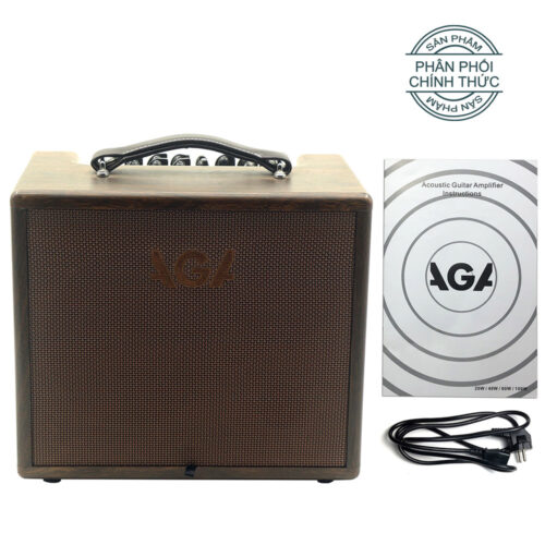 Ampli Guitar Acoustic AGA SC-X5 Bluetooth (60W)