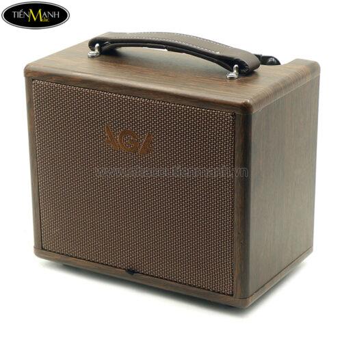 Ampli Guitar Acoustic guitar AGA SC-X1P Bluetooth, Pin Sạc (20W)