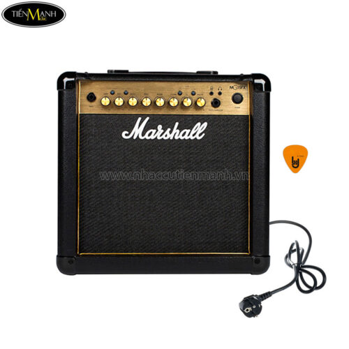 Amply Guitar Electric Marshall MG15FX Gold (15W)